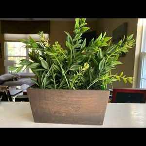Rectangle house plant (fake)